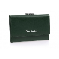 Zielona portmonetka Pierre Cardin - nowy design