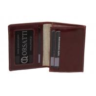 Etui na wizytówki Orsatti EW01 w kolorze brązowym