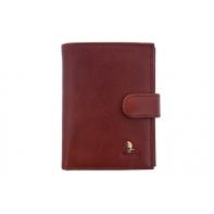 Męski portfel Puccini P1400 w kolorze brązowym