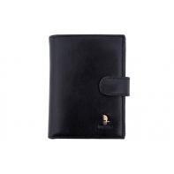 Męski portfel Puccini P1400 w kolorze czarnym