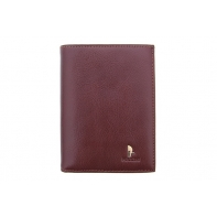Męski portfel pionowy Puccini P1699 w kolorze brązowym