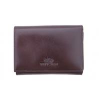 Portmonetka marki Wittchen 21-1-071, kolekcja Italy, kolor brązowy