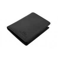 Klasyczny portfel Wittchen 21-1-009, kolekcja Italy, kolor czarny