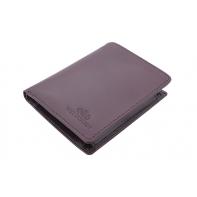 Klasyczny portfel Wittchen 21-1-009, kolekcja Italy, kolor brązowy