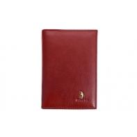 Etui na dokumenty Puccini P-1595 w kolorze czerwonym