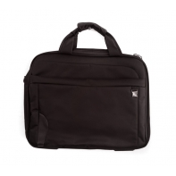 Brązowa torba na laptopa QM80774 Puccini, lekka, na ramie
