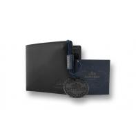 Portfel Wittchen 21-1-019, kolekcja Italy, kolor czarny, z wyjmowaną wkładką