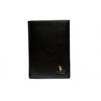 Męski portfel Puccini P1696 w kolorze czarnym