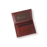 Etui na wizytówki Puccini P-1807 w kolorze brązowym