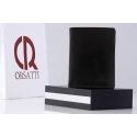Męski, doskonale wyposażony portfel Orsatti M05A w kolorze czarnym