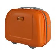 Kuferek, kosmetyczka podróżna Puccini ABS, pomarańczowy