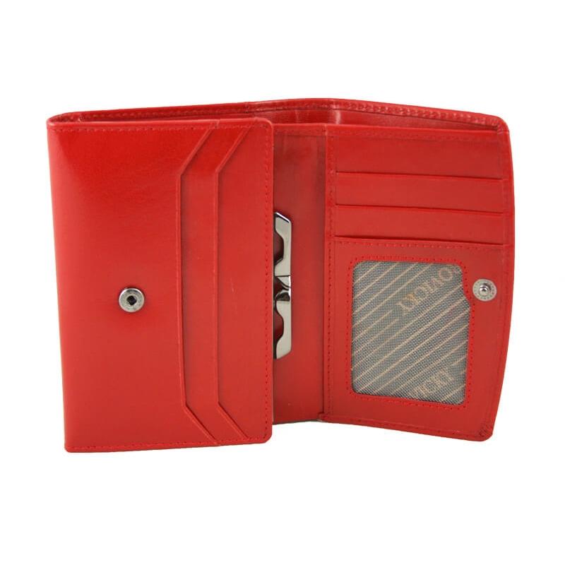 7935db5215b75 Portfel damski Rovicky w kolorze czerwonym