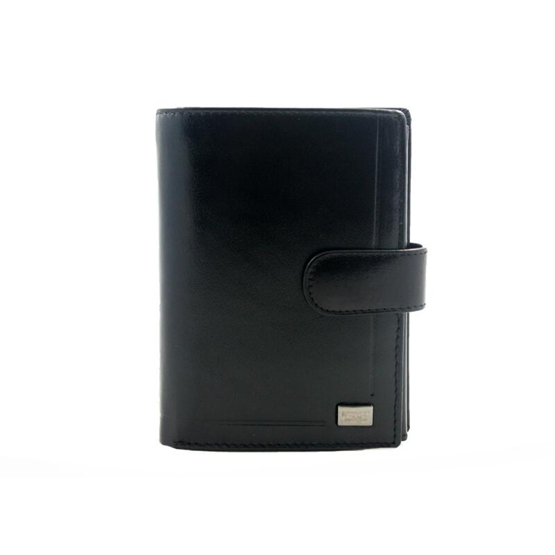 19619b3cf9453 Męski portfel Rovicky ze skóry naturalnej
