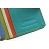 Kolorowy niewielki portfel damski Valentini, żółty, zielony + inne
