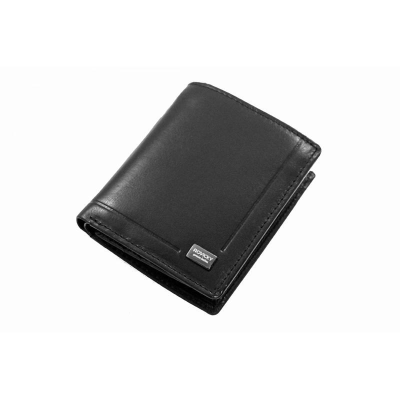 c6562822f76cb Mały męski portfel Rovicky ze skóry naturalnej