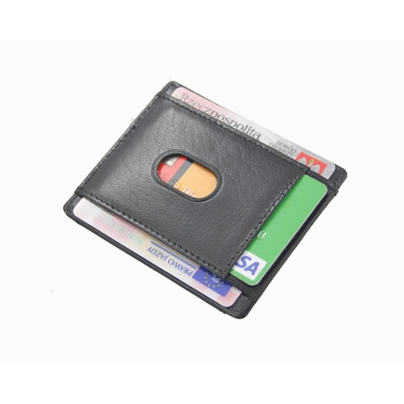 8237ba48b5316 Najmniejszy skórzany portfel Orsatti M11A czarny