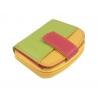 Maleńki kolorowy portfel damski Valentini, pomarańczowy, zielony, czerwony + inne