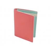 Kolorowe etui na dokumenty Valentini, koralowe + inne
