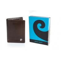 Męski portfel Pierre Cardin, exclusive collection, brązowy