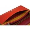 Kolorowy portfel damski Valentini, czerwony, zielony + inne