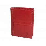 Ekskluzywny pionowy portfel Orsatti M12 w kolorze czerwonym