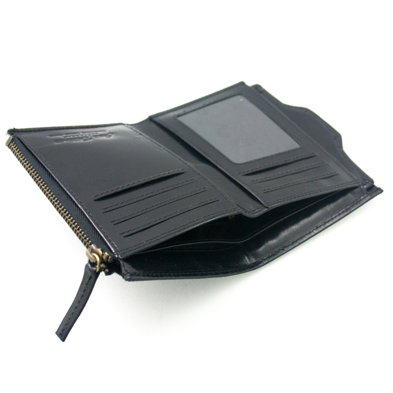 7ee53add653e7 Cienki portfel męski marki Peterson z wkładką, czarny