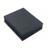 Mały portfel męski Pierre Cardin ze skóry naturalnej czarny z niebieską wstawką