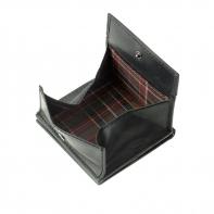Skórzany mały portfel męski marki DuDu®, khaki