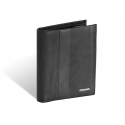 Skórzany portfel męski Valentini RFID, czarny, klasyczny