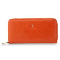 Saszetka damska Puccini P1962 - kolor pomarańczowy