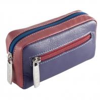 Etui na klucze sakiewka marki DuDu®, fioletowy + kolorowy środek