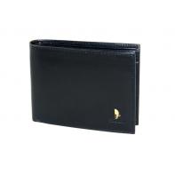 Męski portfel Puccini P20440 z piekiełkiem w kolorze czarnym