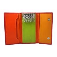 Etui na klucze marki DuDu®, czerwony + pomarańczowy