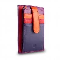 Skórzany portfel saszetka marki DuDu®, fuksja, fiolet + inne