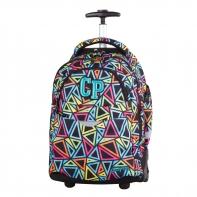 Plecak szkolny na kółkach CoolPack Rapid Color Triangles 652