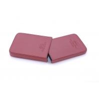 Etui na wizytówki Wittchen ITALY 21-2-039, w kolorze czerwonym