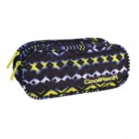 Saszetka piórnik szkolny Coolpack Clever, Tie Dye Blue 740