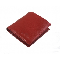Mały portfelik Wittchen 21-1-065, kolekcja Italy, kolor czerwony
