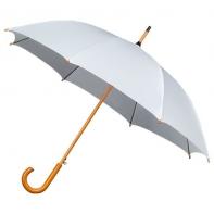 Automatyczna damska parasolka w kolorze białym