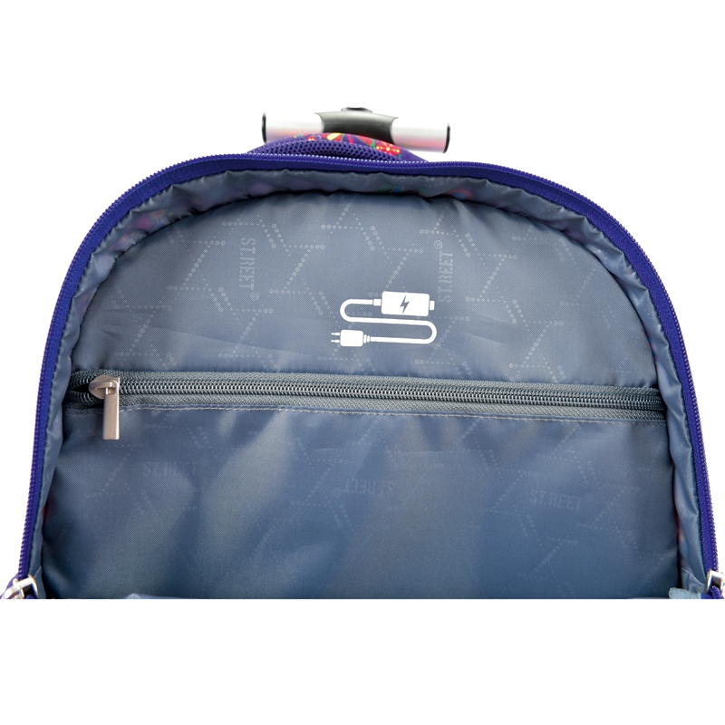 432f173e29ac4 Trzykomorowy plecak na kółkach St.Right 34 L, HOOPS