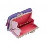 Kolorowa portmonetka damska Valentini, fioletowy, różowy+ inne