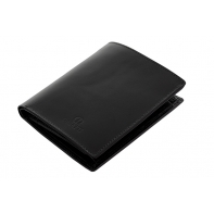 Męski skórzany portfel Orsatti M09A czarny