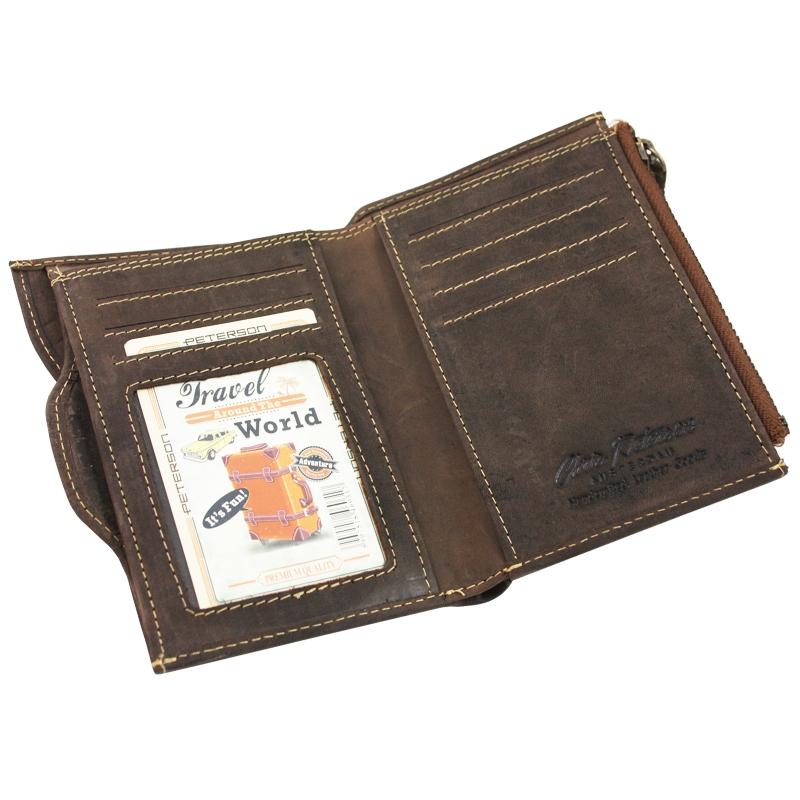 c62a1f12de131 Dwuczęściowy portfel męski marki Peterson