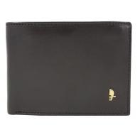 Męski poziomy portfel Puccini z bogatym wyposażeniem, brązowy