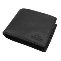 Skórzany portfel Wittchen 21-1-046, czarny - kolekcja Italy