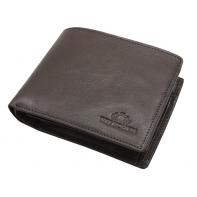 Skórzany portfel Wittchen 21-1-046, brązowy - kolekcja Italy