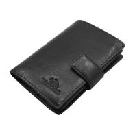 Skórzany portfel Wittchen 21-1-291, czarny - kolekcja Italy