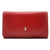 Klasyczny portfel damski Puccini MU1959 w kolorze czerwonym