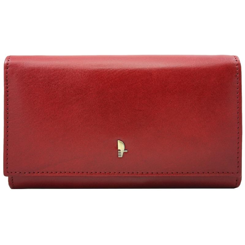 985bbb84f47ab Portfel damski Puccini MU1706 w kolorze czerwonym