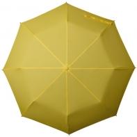 Klasyczna damska składana parasolka w kolorze żółtym